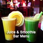 DiChickO's Juice & Smoothie Bar Menu